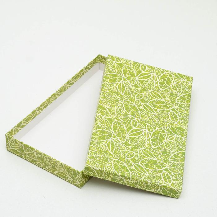 Набор коробок 10 в 1 'Кружевная листва зеленая' МИКС 36,5 х 26,5 х 12 - 23 х 13 х 3 см - фото 2