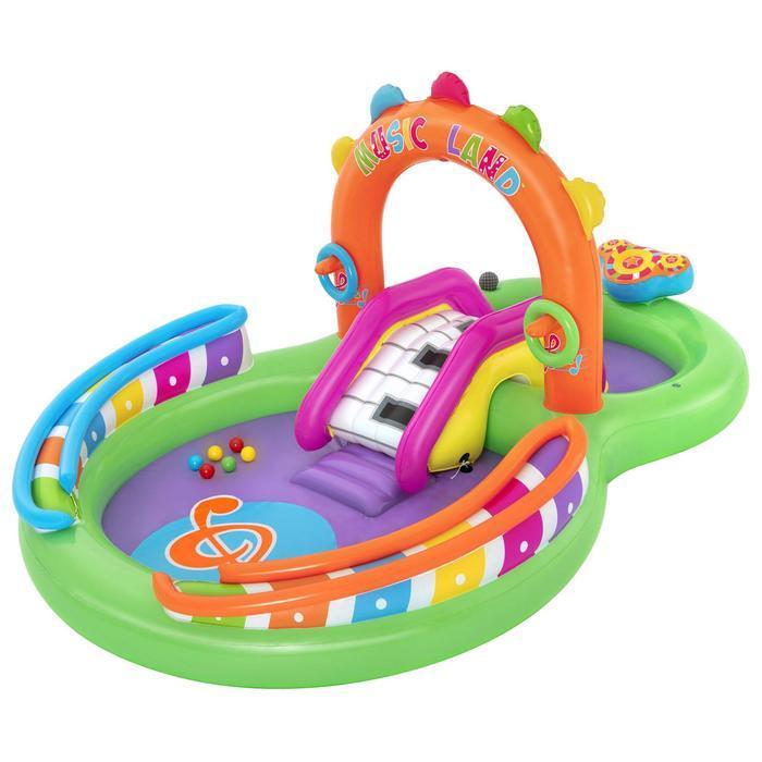 Игровой центр Sing 'n Splash, 295 x 190 x 137 см, 53117 Bestway - фото 1