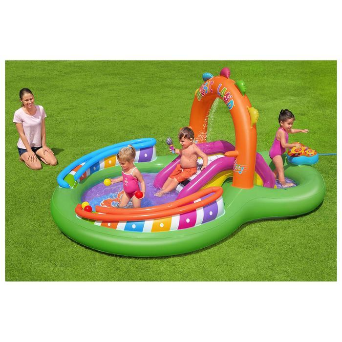 Игровой центр Sing 'n Splash, 295 x 190 x 137 см, 53117 Bestway - фото 2