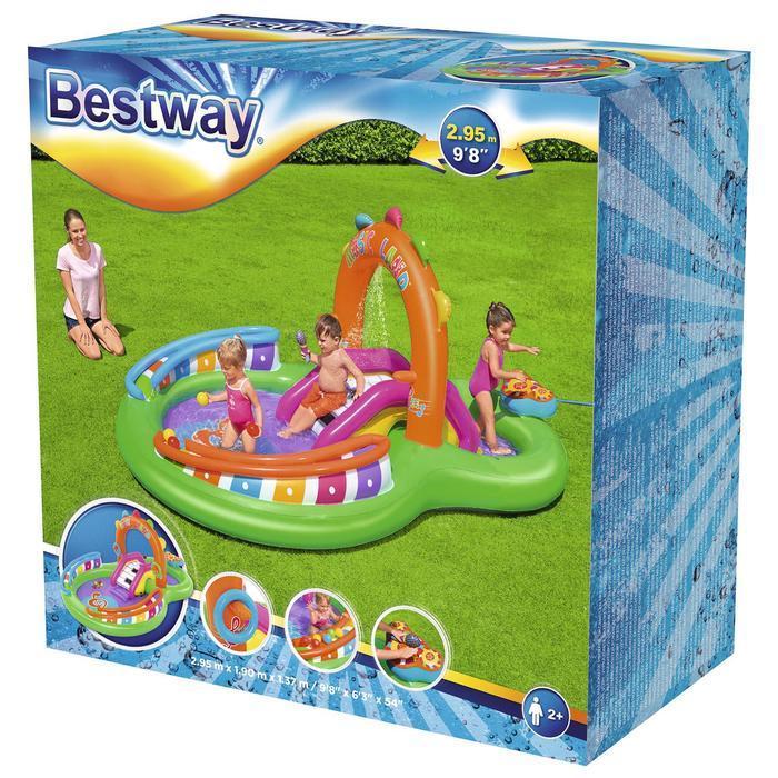Игровой центр Sing 'n Splash, 295 x 190 x 137 см, 53117 Bestway - фото 6