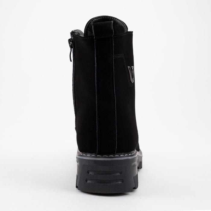 Ботинки женские, цвет чёрный, размер 41 - фото 3