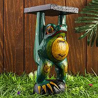 Интерьерный сувенир 'Лягушка' 14х14х30 см