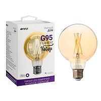 Умная лампа HIPER filament vintage, Wi-Fi, Е27, 7 Вт, 2700-6500 К, 600 Лм