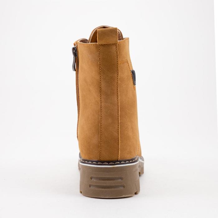 Ботинки женские, цвет коричневый, размер 43 - фото 3