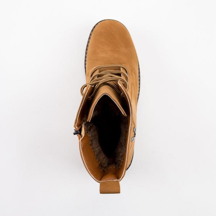 Ботинки женские, цвет коричневый, размер 43 - фото 4