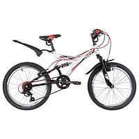 Велосипед 20' Novatrack Dart, 2020, цвет белый