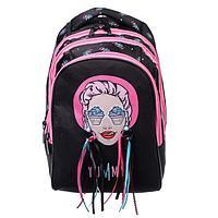 Рюкзак школьный, Hatber, Sreet, 41 х 28 х 21 см, эргономичная спинка, с сумкой-шоппер, Yammy