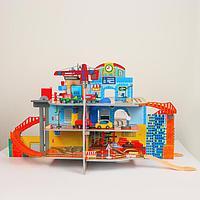 Детский игровой набор 'Маленький городок' 71x55x14 см