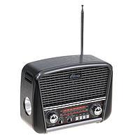Радиоприемник Ritmix RPR-065 GRAY, функция MP3-плеера, фонарь