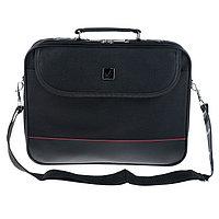Сумка деловая BRAUBERG Profi, отделение для планшета и ноутбука 13,3', 25 х 35 х 7 см, ткань, чёрная