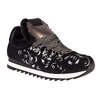 Кроссовки женские, цвет чёрный, размер 39