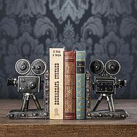 Держатели для книг 'Кинокамера' набор 2 штуки 18х13х11 см