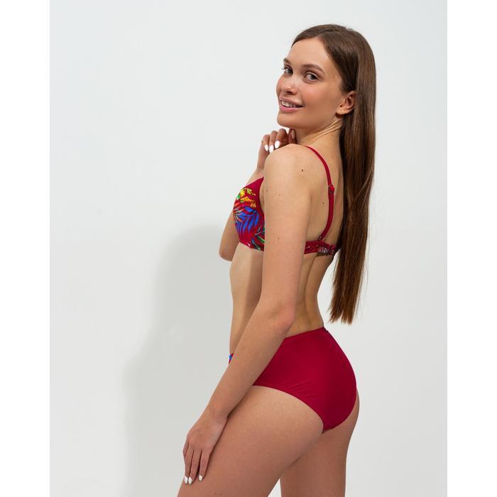 Купальник женский раздельный, цвет красный, размер 40 - фото 7