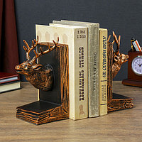Держатели для книг 'Олени' набор 2 штуки 19,5х22х9,5 см