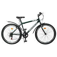 Велосипед 26' Progress модель Crank RUS, цвет темно-зеленый, размер 19'