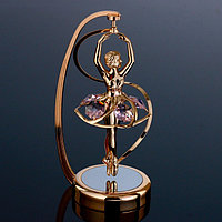 Сувенир с кристаллами Swarovski 'Балерина в арке' 13,9х5,8 см