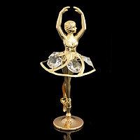 Сувенир 'Балерина', 5x5,5x11 см, с кристаллами Сваровски