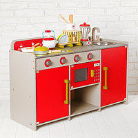 Игровой набор 'Стильная кухня', посудка в наборе
