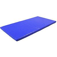 Мат 200 х 100 х 8 см, тент, цвет синий
