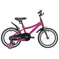 Велосипед 16' Novatrack Prime, цвет розовый