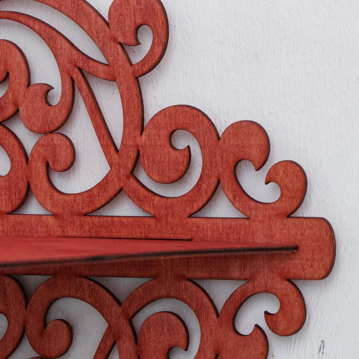 Иконостас 12, цвет красное дерево, 49х18х51 см - фото 4