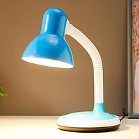 Лампа настольная 16113/1BL E27 40Вт голубой 14,5х16,5х40,5 см