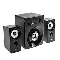 Компьютерные колонки 2.1 Ritmix SP-2165BTH, 2х3 Вт 10 Вт, MP3, FM, BT, USB, черные