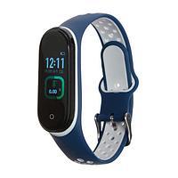 Фитнес-браслет Smarterra Fitmaster TON, 0.96, TFT, IP65, NFC, 90 мАч, сине-белый