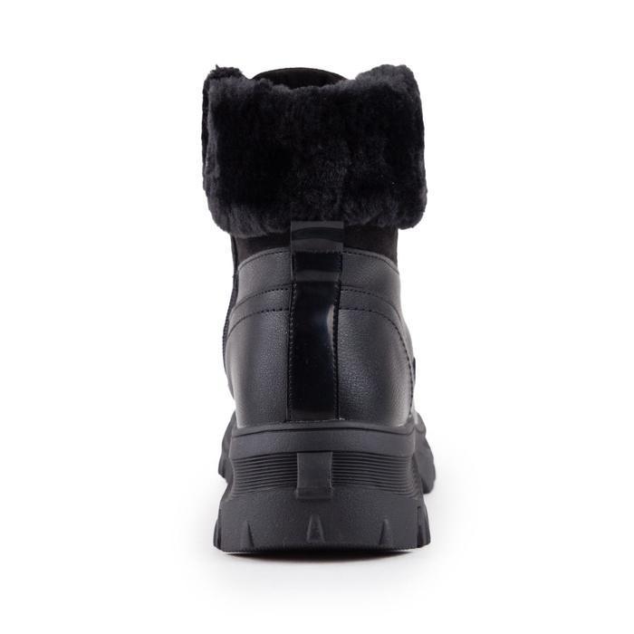 Ботинки женские, цвет чёрный, размер 39 - фото 3