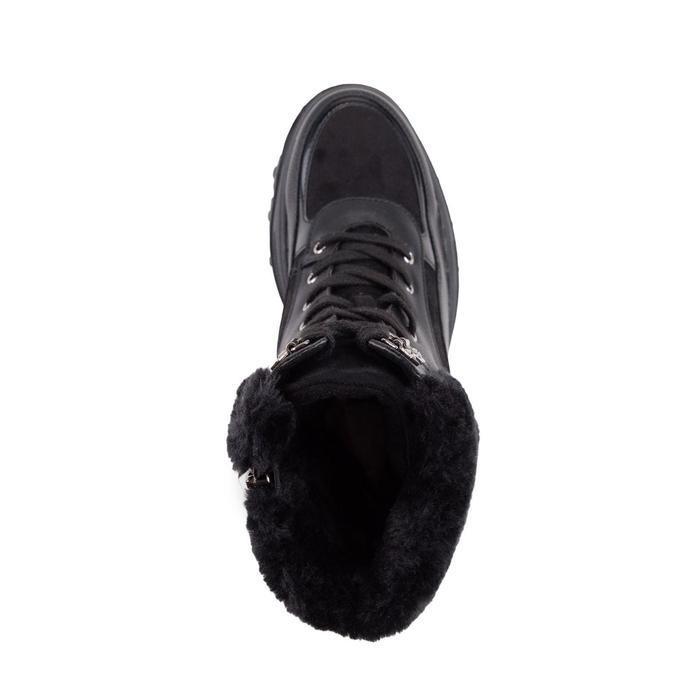 Ботинки женские, цвет чёрный, размер 41 - фото 4