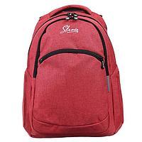 Рюкзак молодежный с эргономичной спинкой Stavia, 47 х 32 х 17 см 'Snow'