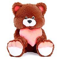 Мягкая игрушка 'Медведь Романтик' с сердцем, МИКС