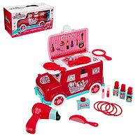 Игровой набор 'Парикмахер для принцесс', в машинке
