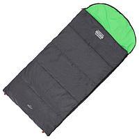 Спальник 2-слойный, L одеяло+подголовник 210 x 100 см, camping comfort summer, таффета/таффета, +5C