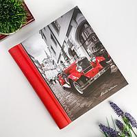 Фотоальбом магнитный 23Х28 см 30 листов 'Красная машина'
