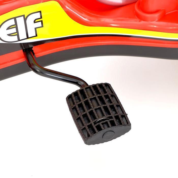 Веломобиль GO KART, цвет красный - фото 8