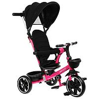 Велосипед трехколесный Micio Veloce +, колеса EVA 10'/8', цвет розовый