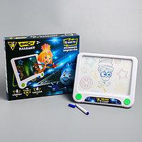 3D-планшет для рисования неоновыми маркерами, световые эффекты, с карточками 'Фикси планшет', ФИКСИКИ