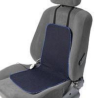 Подогрев сидений Cartage, со спинкой, 2 режима нагрева, 12 В, 30/50 Вт, 40х80 см, греющий жгут - нити