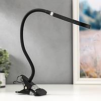 Настольная лампа 16284/1 LED 7Вт USB черный 11х7,5х43 см