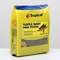 Корм для черепах Turtle Baby Mini Sticks в виде плавающих палочек, 1 кг