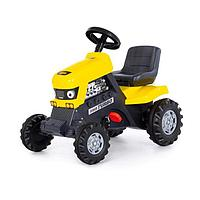 Педальная машина для детей 'Turbo', цвет жёлтый