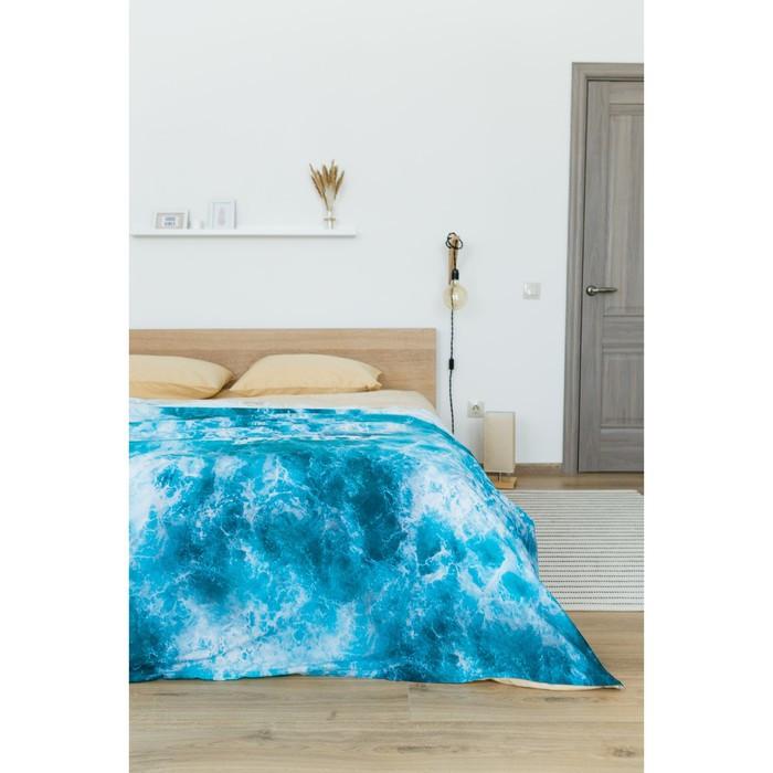 Постельное бельё 'Этель' евро Морская волна 200х217 см, 260*240 см, 50х70 см - 2 шт - фото 9
