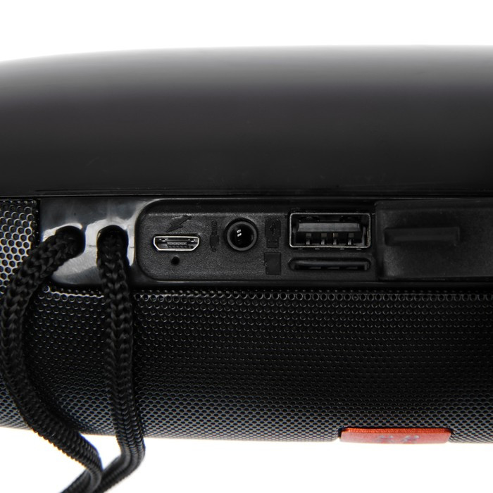 Портативная колонка SK1012BK, microSD/USB, Bluetooth 5.0, 10 Вт, 1200 мАч, чёрная - фото 3