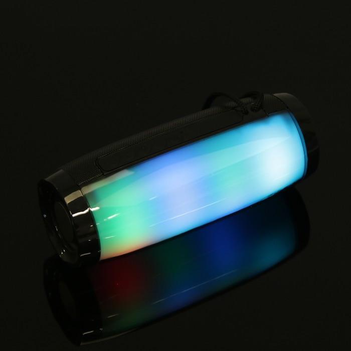 Портативная колонка SK1012BK, microSD/USB, Bluetooth 5.0, 10 Вт, 1200 мАч, чёрная - фото 4