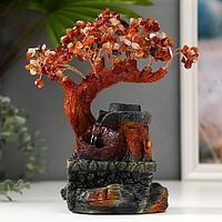 Фонтан 'Денежное дерево' 240 камней от сети МИКС 25х23х10 см