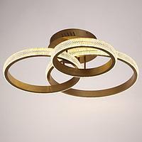 Люстра с ПДУ 88006/3 LED 125Вт 3000-6000К диммер золото 83х64х19 см