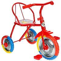 Велосипед трёхколёсный Micio TR-313, колёса 10'/8', цвет красный, голубой, розовый, зелёный, синий, жёлтый