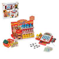 Игровой набор 'Супермаркет' касса с витриной и корзинкой