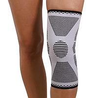 Бандаж для коленного сустава - 'Крейт' (2, серый) У-842, обхват колена 35,5-38 см